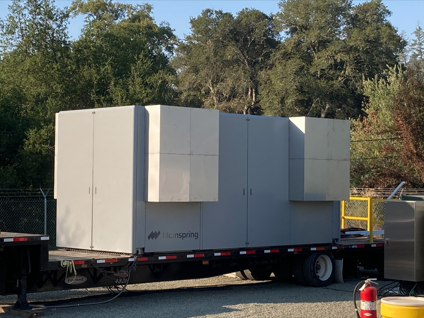 Angwin Mainspring Linear Generator